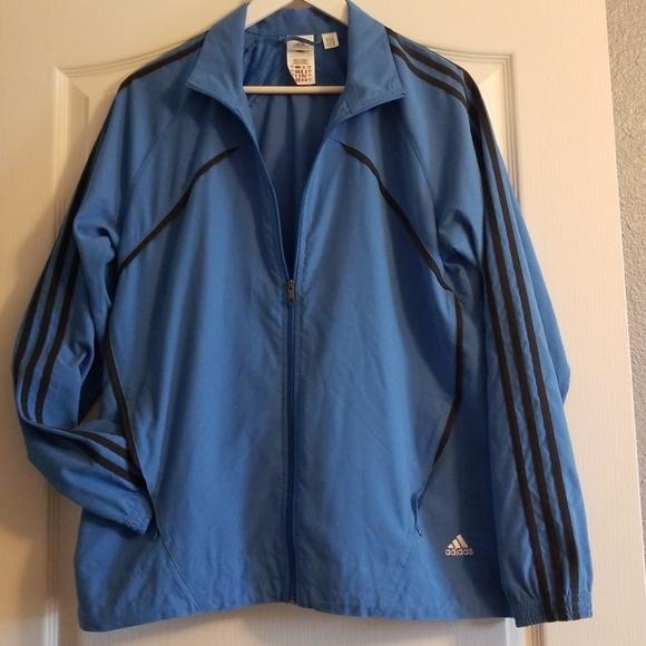 adidas Other - Adidas Windbreaker Jacket Lt. Blue